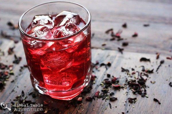 Vanilla Ginger Bissap | good stuff 2 drink | Pinterest