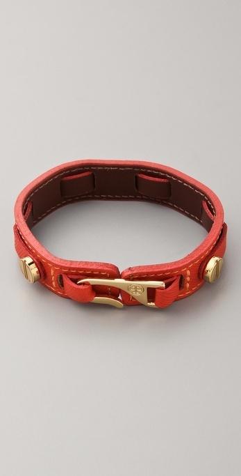 Tory Burch Hook Wrap Bracelet thestylecure.com