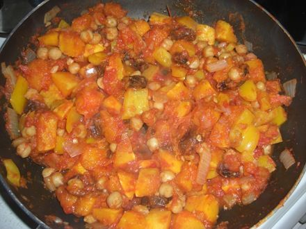 moroccan butternut chickpea tagine | Food | Pinterest