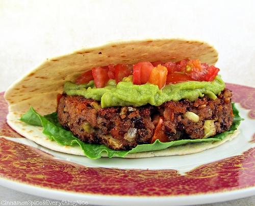 Tex-Mex Pinto Bean Burgers Recipe — Dishmaps