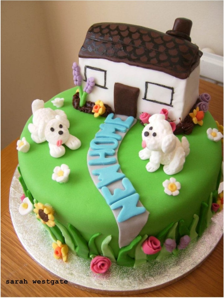 New home cake Cake Ideas Pinterest