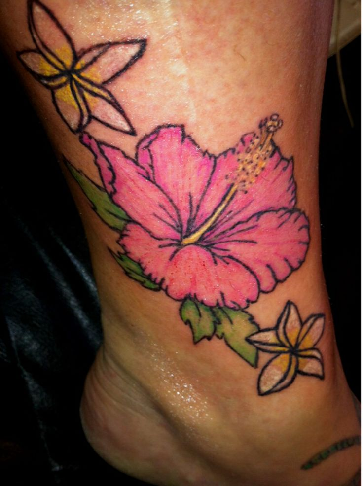 gallery for plumeria flower tattoos ankle. Black Bedroom Furniture Sets. Home Design Ideas