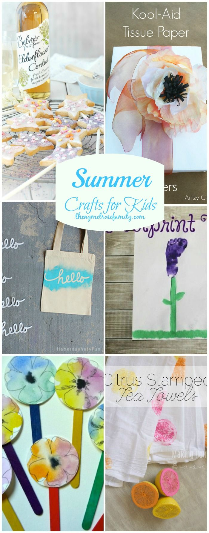 The BEST Summer Crafts for Kids that are sure to be boredom busters!