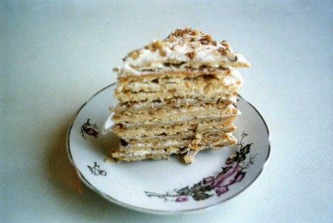 Сметанный торт торт из детства