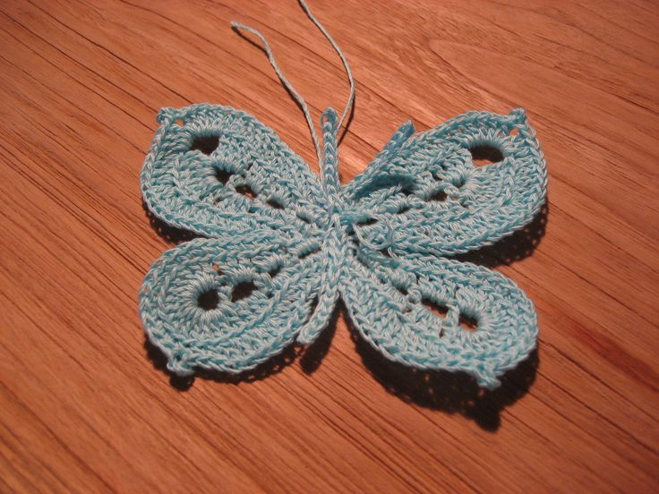 Crochet Butterfly Pattern : Found on nerospost.wordpress.com
