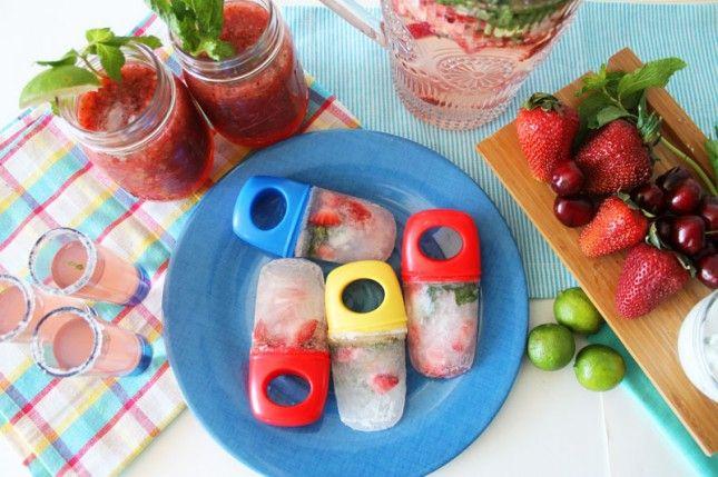 Ways to Sip a Strawberry Mojito | Brit + Co.