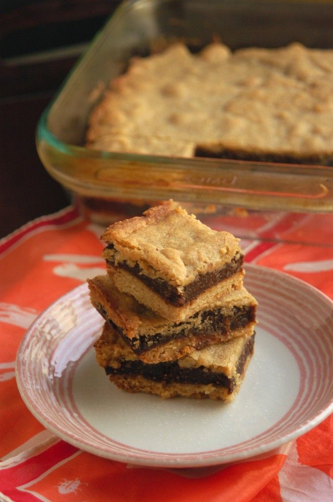 Homemade Fig Newton Bars | cakes, pies and bars | Pinterest