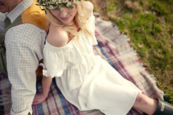 robe de mariée vintage bohème pas chère  Mariage  Pinterest