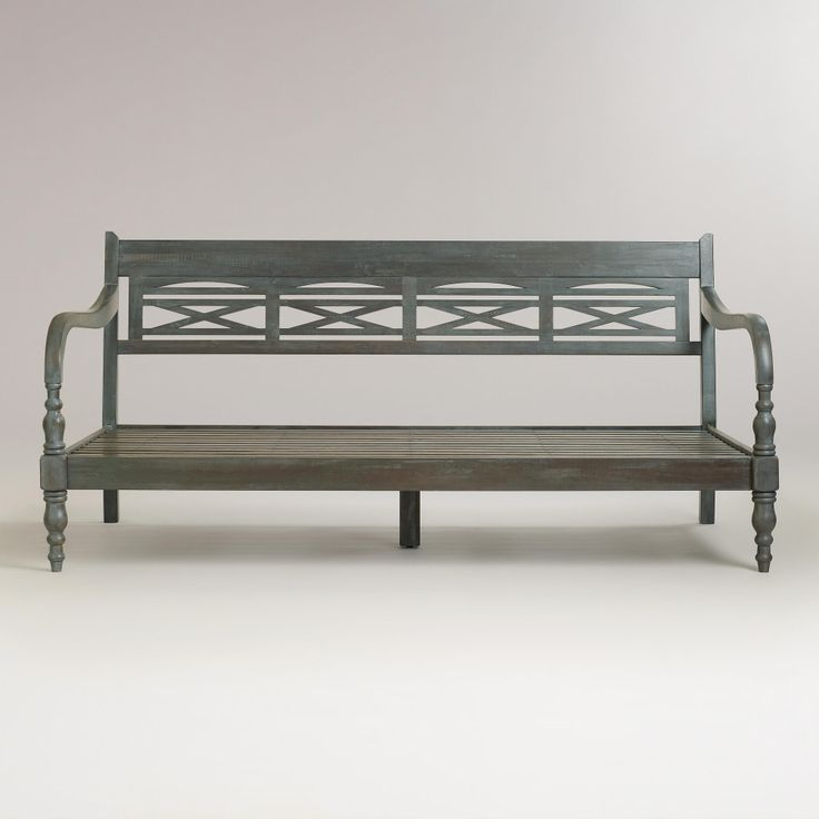 indonesian daybed frame world market do it yourself pinterest. Black Bedroom Furniture Sets. Home Design Ideas