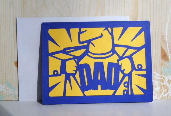 Father 39 S Day Superhero Card