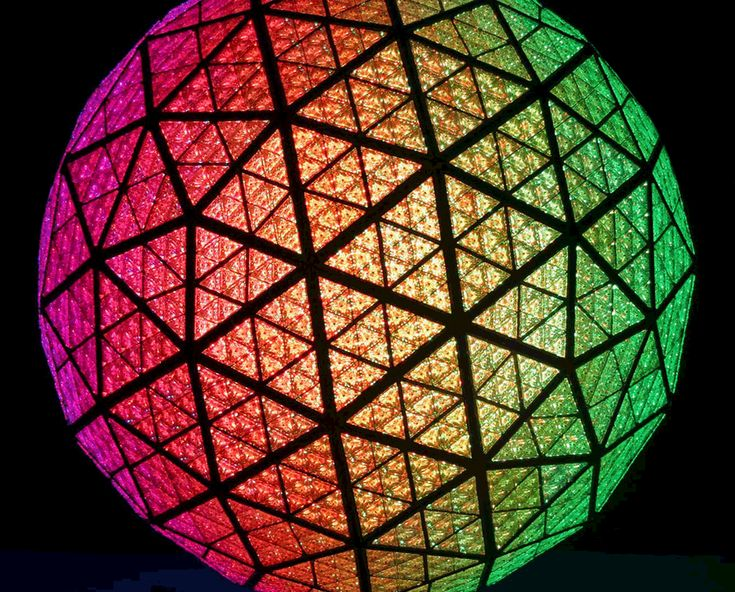 New Years Eve Times Square Ball Drop GIF