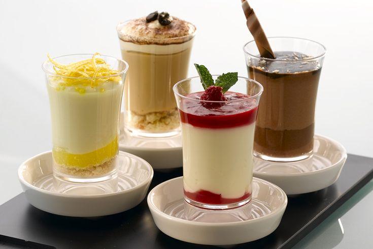 Десерты в шотах рецепт