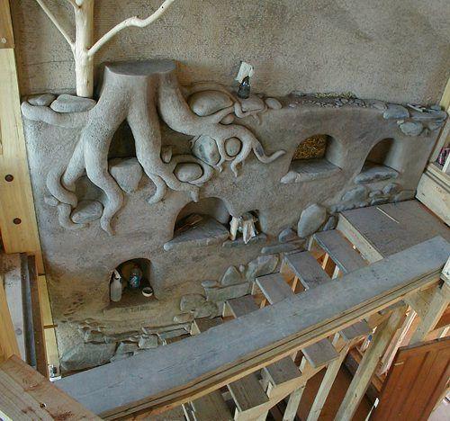 Cob Sculpture