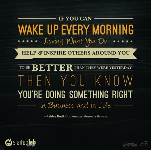 inspire others to better today than they were yesterday