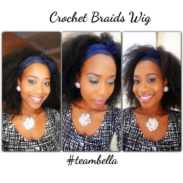 Crochet Braids Wig : My crochet braids wig Hair Pinterest