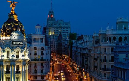 Madrid Spain Beautiful Places Holidays And Travel Pinterest