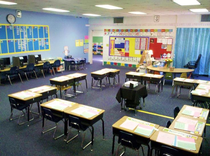 Classroom Seating Ideas : I like the way desks are set up classroom layout