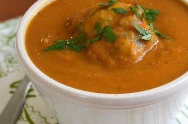 Vegetable Soup With Parmesan Dumplings Recipe — Dishmaps