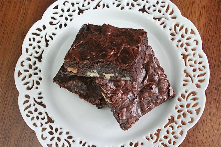 Cocoa Brownies with Browned Butter & Walnuts | www ...