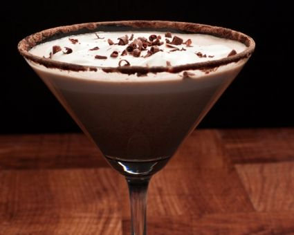 Thin Mint Martini Recipe | The Daily Meal