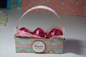 cute little easter basket