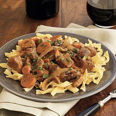 Veal Paprikash - 105 Favorite Slow-Cooker Recipes - Cooking Light