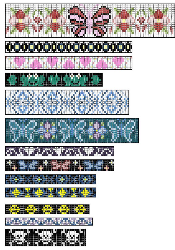 Loom Beading Patterns by =Kribabe on deviantART