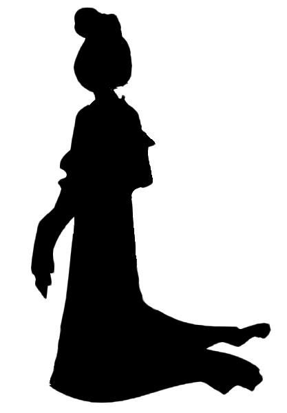 Found on disfrutandoenmihogar.blogspot.com.es Disney Princess Silhouettes