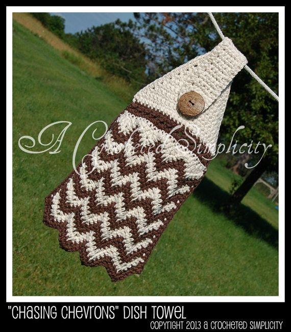 Crocheting Dish Towels : dish towels