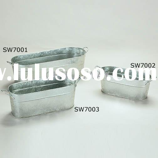 Galvanized wash tub -Pawsome Pinterest