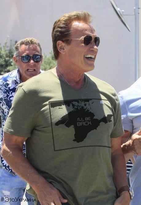 Arnold schwarzennegger i ll be back