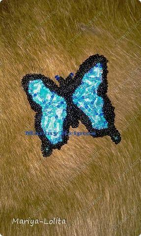 Плетением бисером фиалка схема