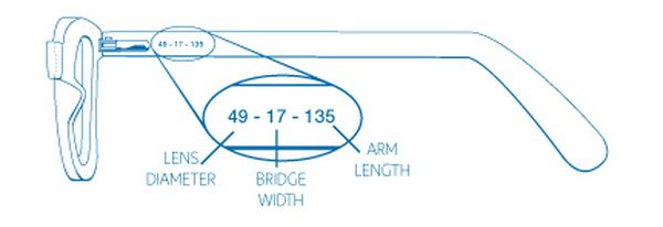 Glasses Frame Measurements : Pin by Aviation Explorer on Helpful Tips & DIY Projects ...