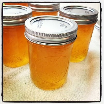 Peach Bellini Jam | Sweet Stuff | Pinterest