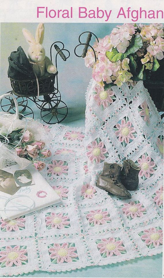 Pretty Crochet Patterns : Lovely Baby Afghan Crochet Pattern Pretty por PaperButtercup, $3.25