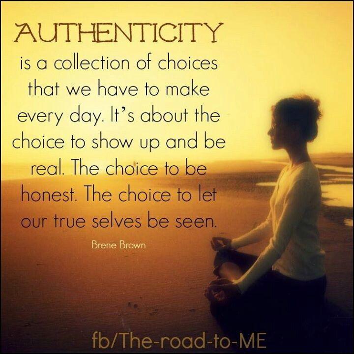 Authenticity Best Quotes Pinterest