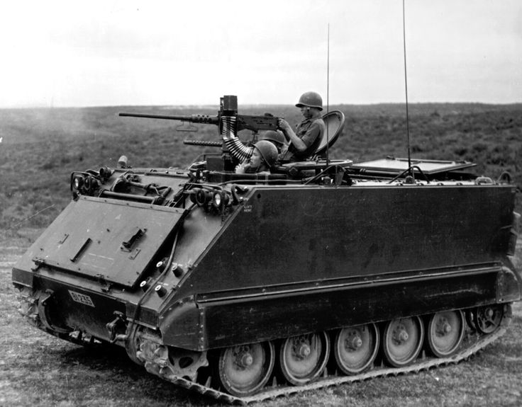 M113 Armored Personnel Carrier, what I used to drive in the Army.