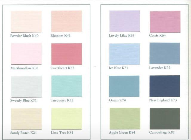 Mooie kleuren voor verf!  Kleurenschema s  Pinterest