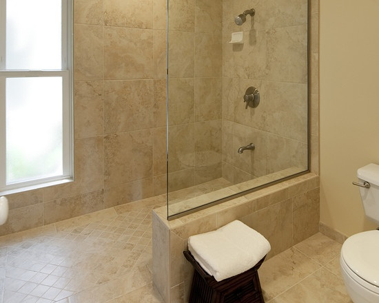 Bathroom Remodel Curbless Shower : Curbless shower bathrooms