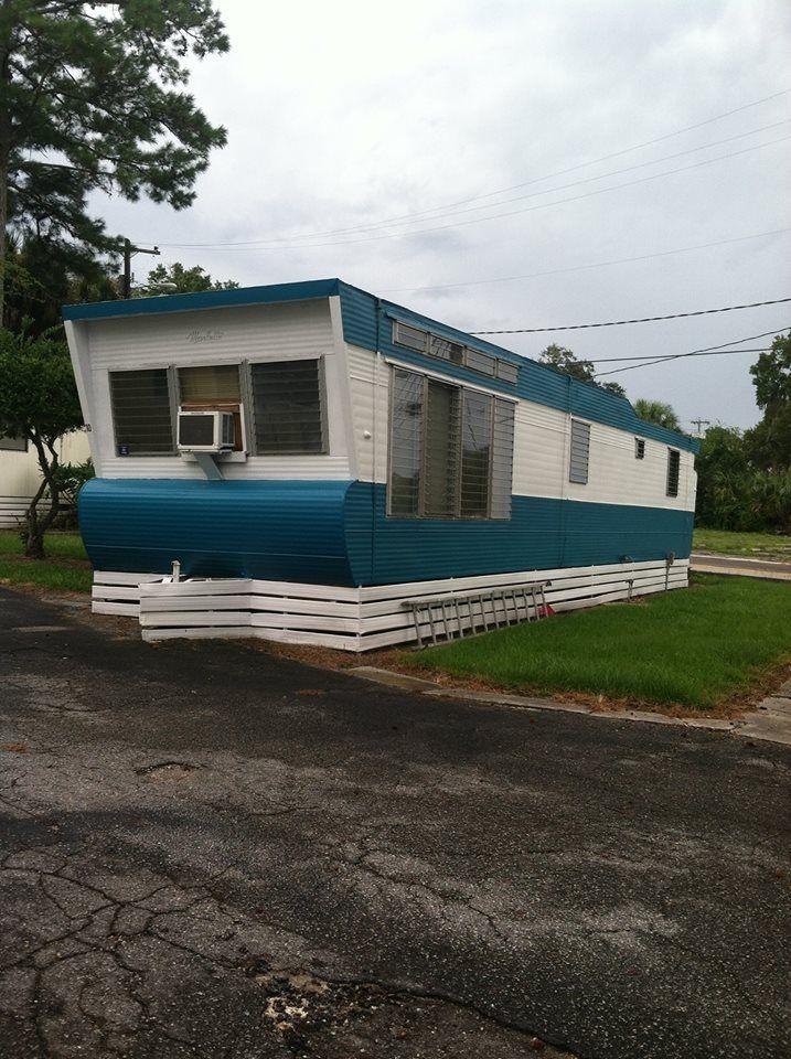 Cool vintage mobile home rv 39 s camper vans caravans for 12 x 60 window