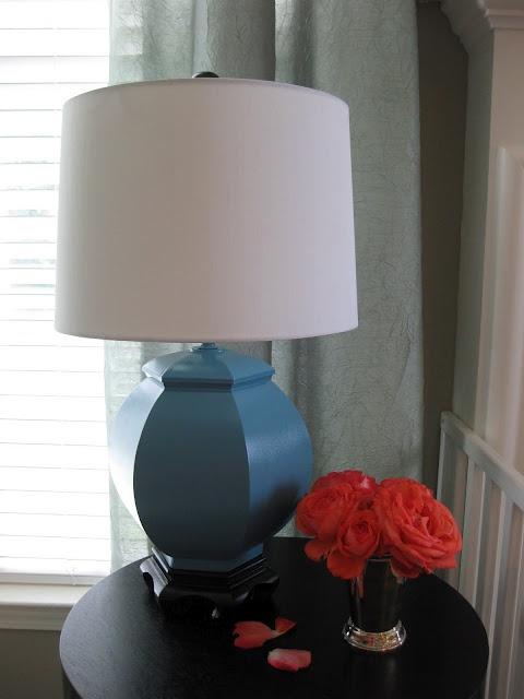 brass lamp. Black Bedroom Furniture Sets. Home Design Ideas