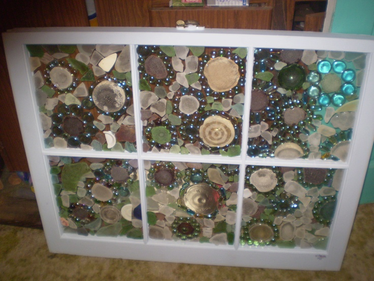 Pin by mandy mueller on art masterpiece pinterest for Recycled window frames