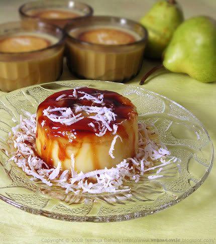 More like this: coconut custard , custard and custard desserts .