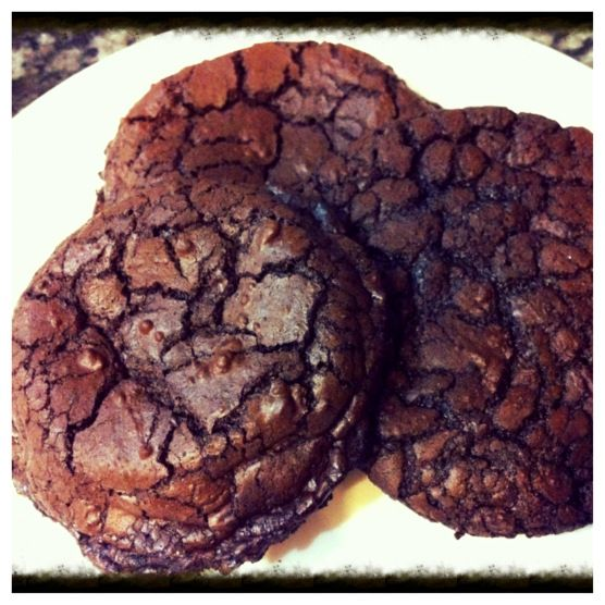 Dark-Chocolate Cookies With Espresso Recipe — Dishmaps