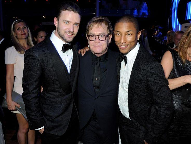 Justin Timberlake, Elton John And Pharrell Williams | GRAMMY.com