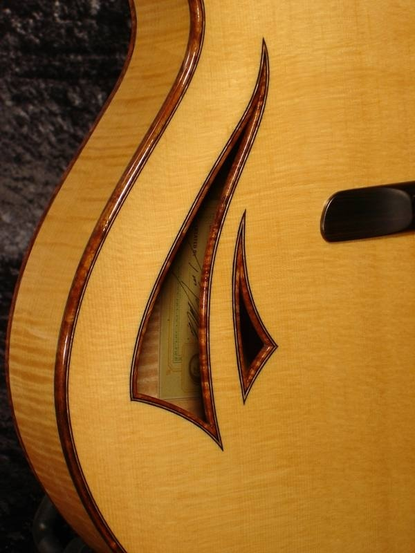 A more modern f hole design cool guitar stuff pinterest for Guitar f hole template