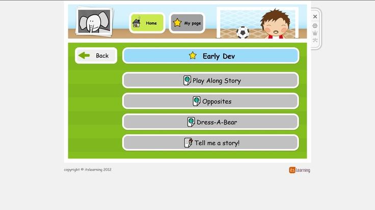 itslearning early learner dashboard | Screen Shots | Pinterest
