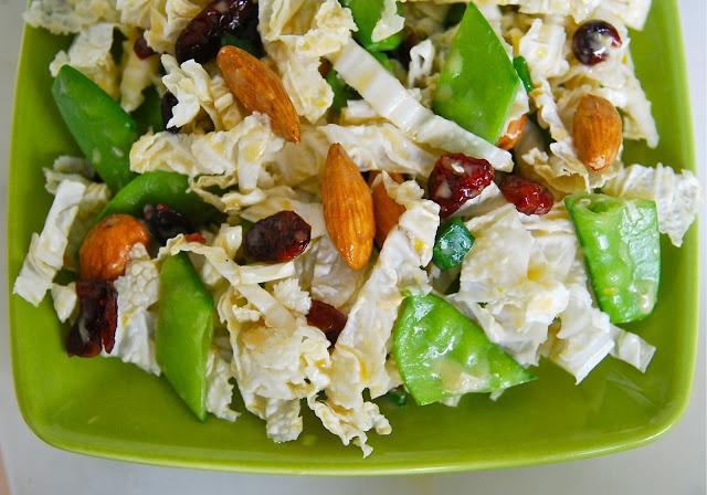 Winter Slaw Makes 4 side salads or 2 dinner salads - Use organic ...