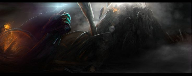 We love this. HE IS BACK by Valhelsing2, inspired by the new Zaros quest Fate of the Gods.  #RuneScape