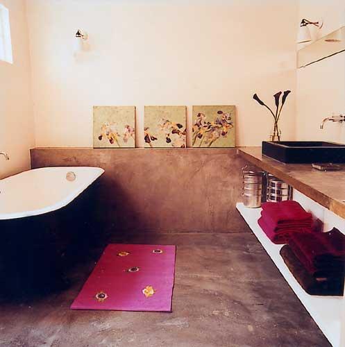 Afvoer Douche Flexibel ~ Betonnen vloer in badkamer  Interieur  Badkamer  Pinterest